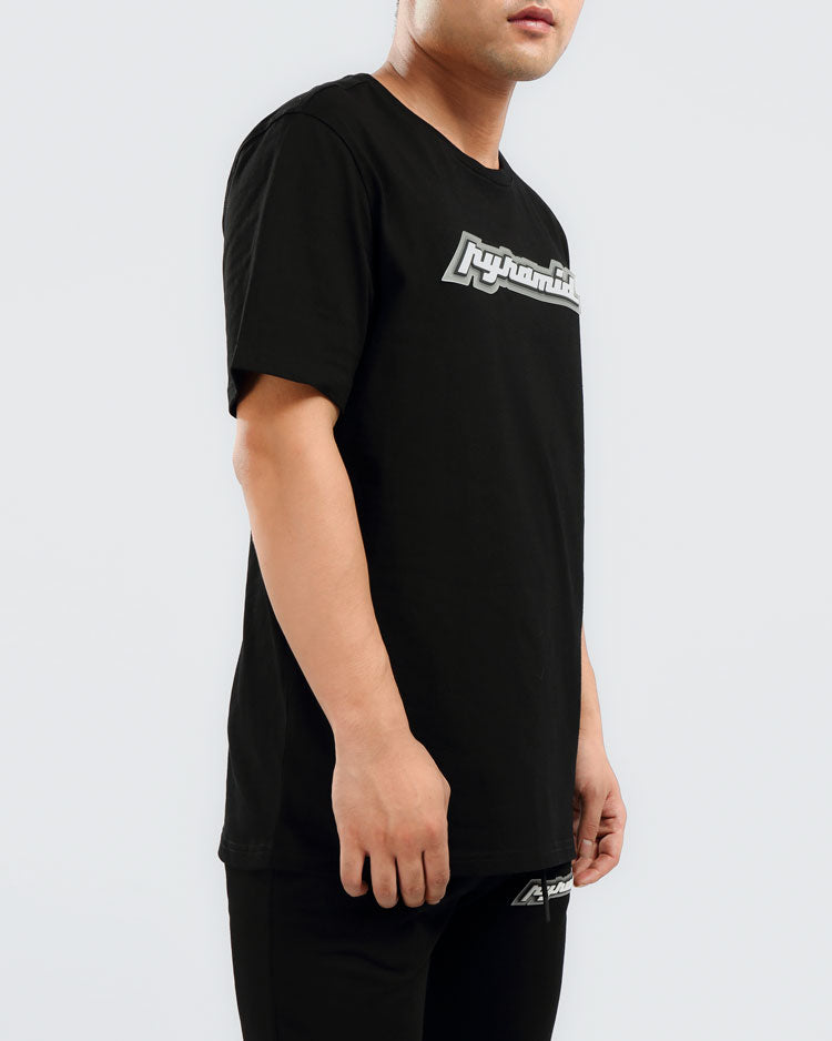 CORE 3D RUBBER PATCH SHIRT-COLOR: BLACK