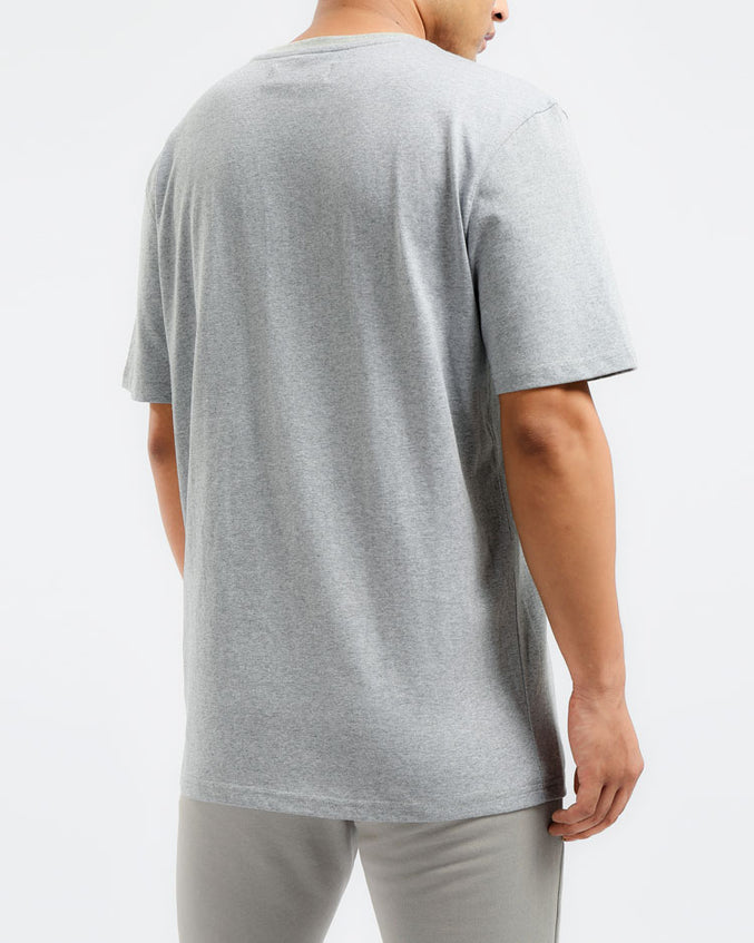 CORE 3D RUBBER PATCH SHIRT-COLOR: HEATHER GRAY