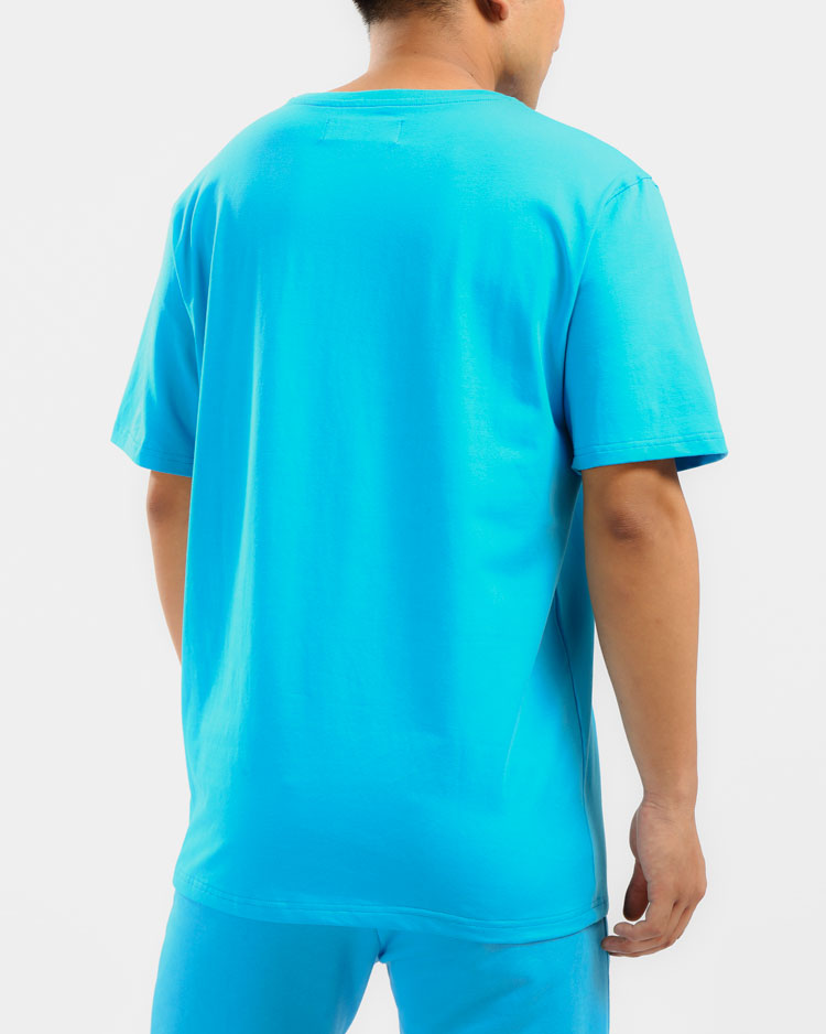 CORE 3D RUBBER PATCH SHIRT-COLOR: LT BLUE