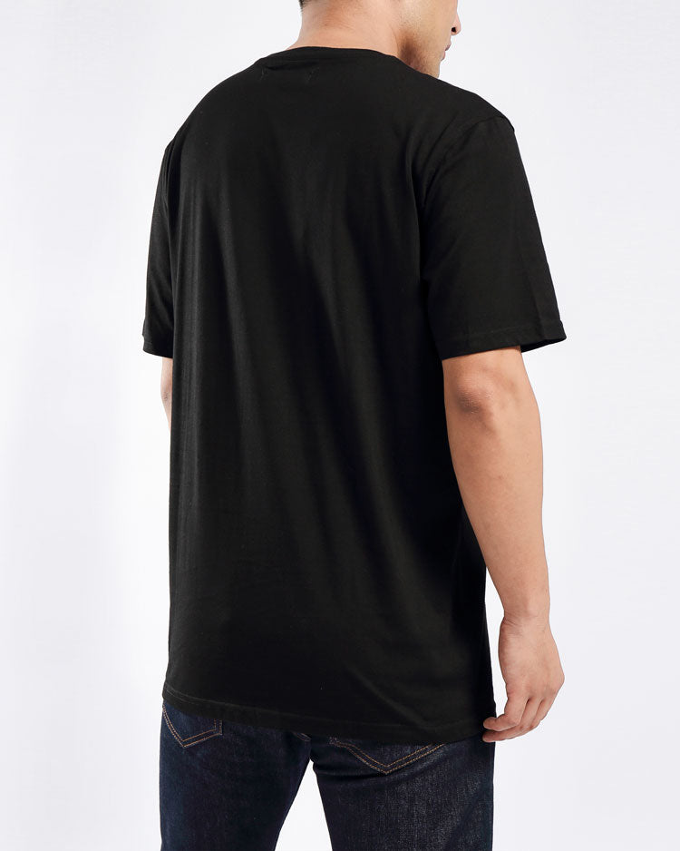 GEM STAR INDIGO CHILD TEE-COLOR: BLACK