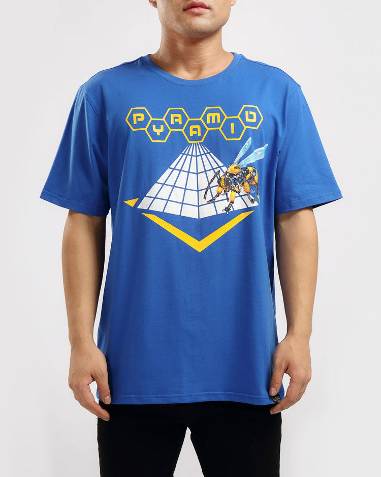 ROBORT BEE TEE-COLOR: BLUE