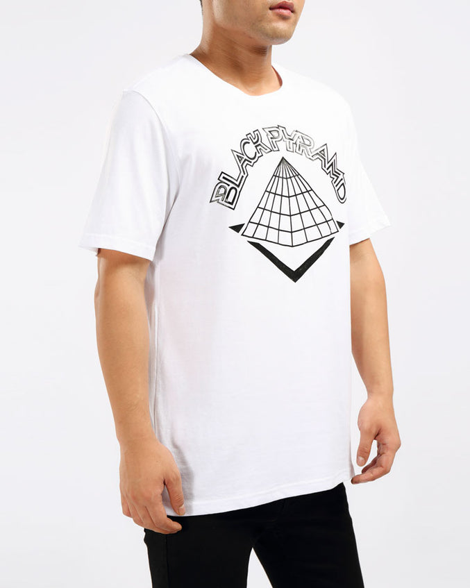 ROBORT BEE TEE-COLOR: WHITE