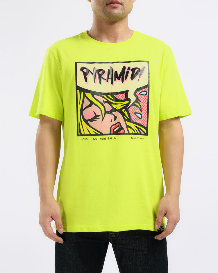 RESTING PYRAMID FACE TEE