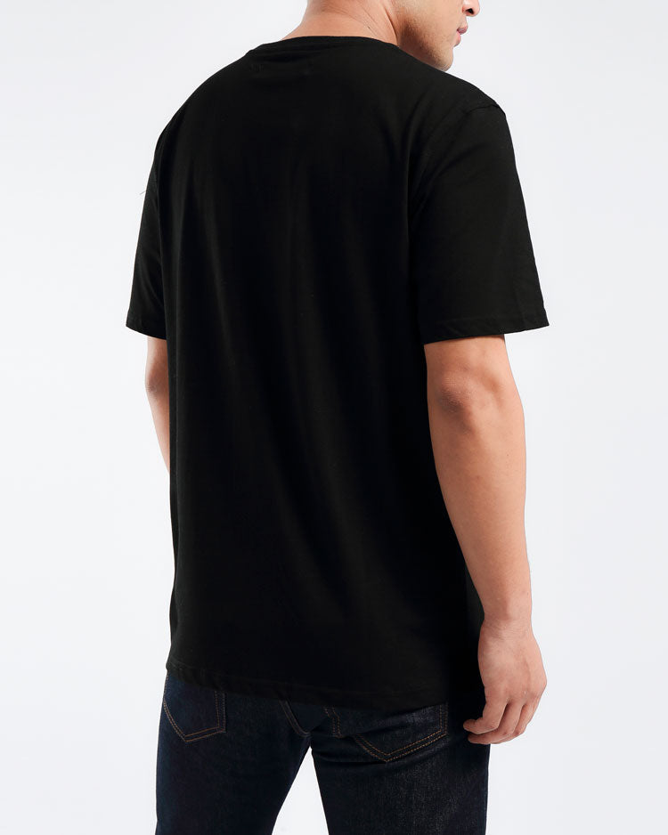 OHB HOT ROD TEE-COLOR: BLACK
