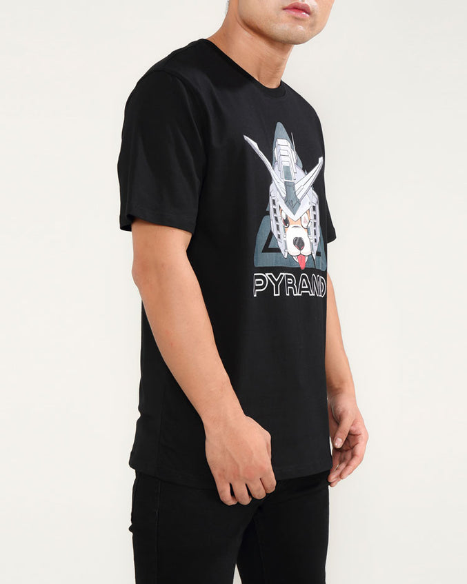 ROBO DOG SHIRT-COLOR: BLACK