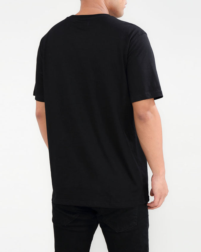 BIG AND TALL FLEX SHIRT-COLOR: BLACK