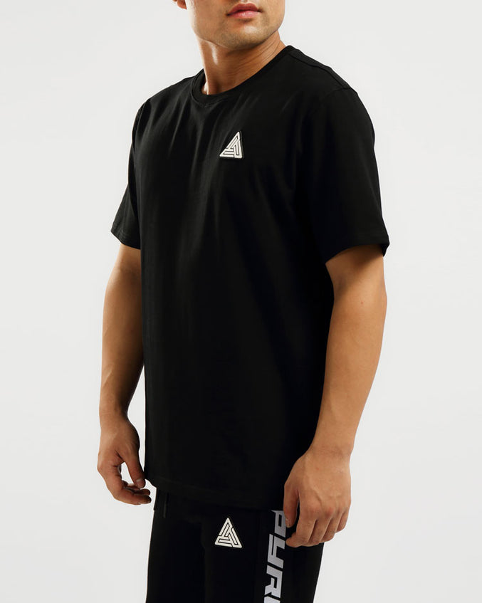 BP CLEAN LOGO SHIRT-COLOR: BLACK