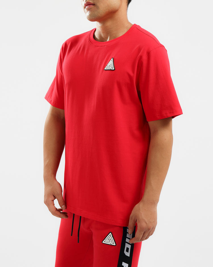 BP CLEAN LOGO SHIRT-COLOR: RED