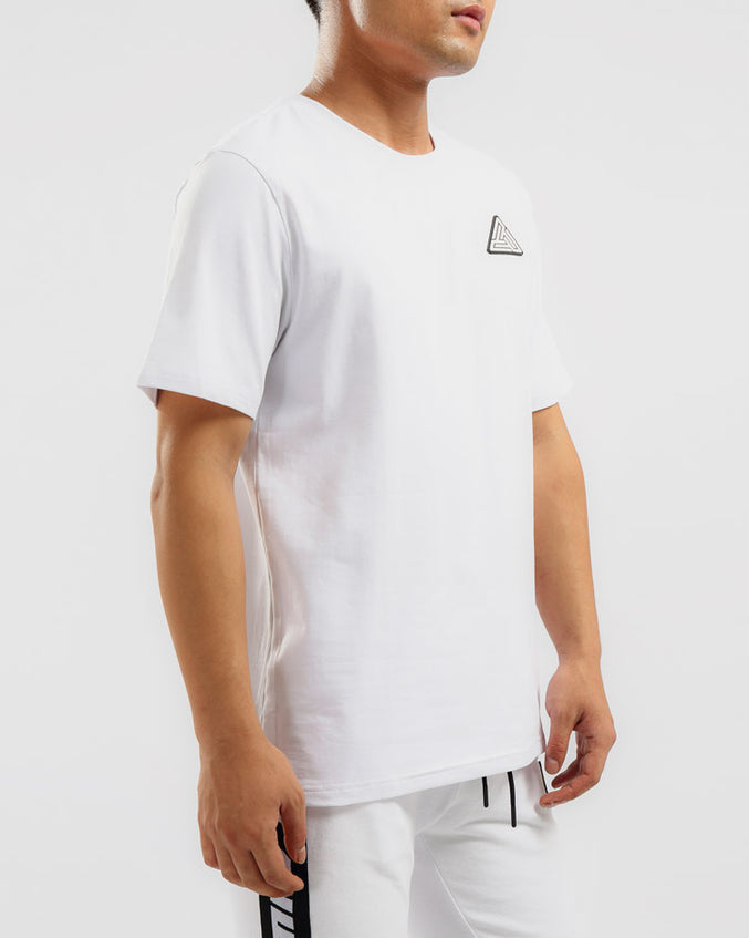 BP CLEAN LOGO SHIRT-COLOR: WHITE