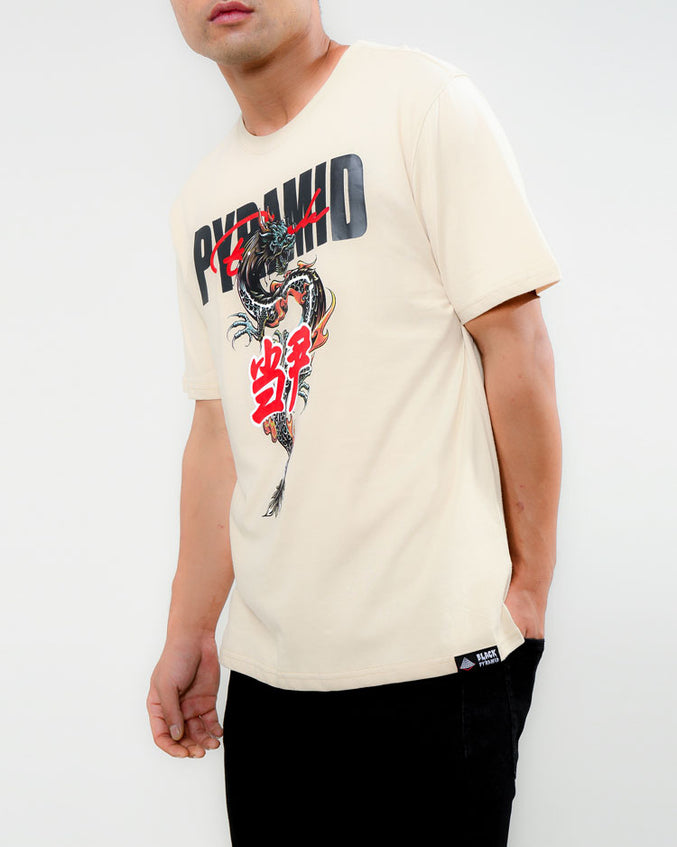 DRAGON TEE-COLOR: KHAKI
