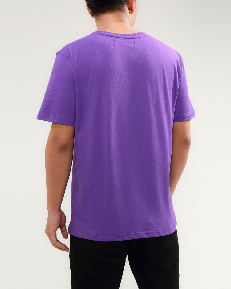 ICE CUBE TEE-COLOR: PURPLE