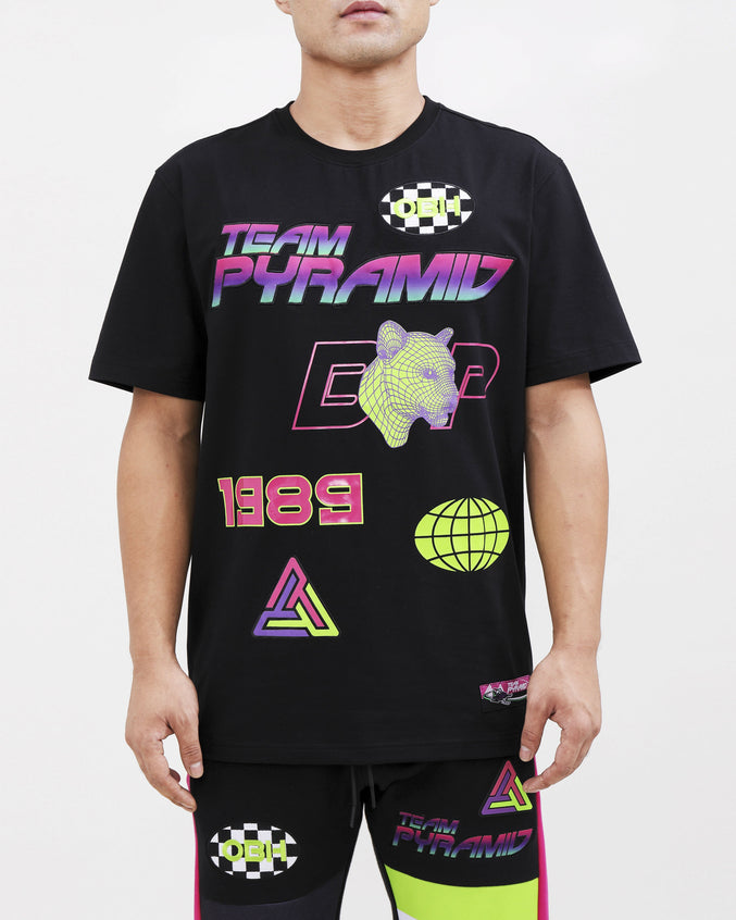 TEAM PYRAMID SHIRT-COLOR: BLACK