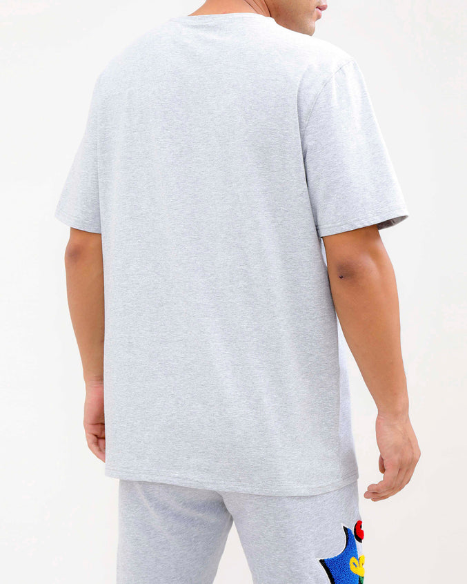 PYRAMID HUNGRY SHIRT-COLOR: HEATHER GRAY