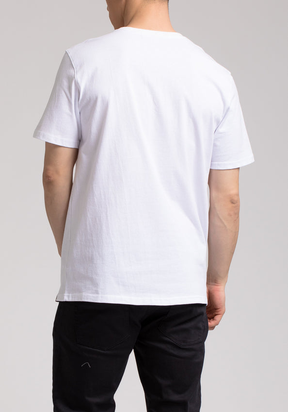 SHARK PLANE SS SHIRT - Color: White