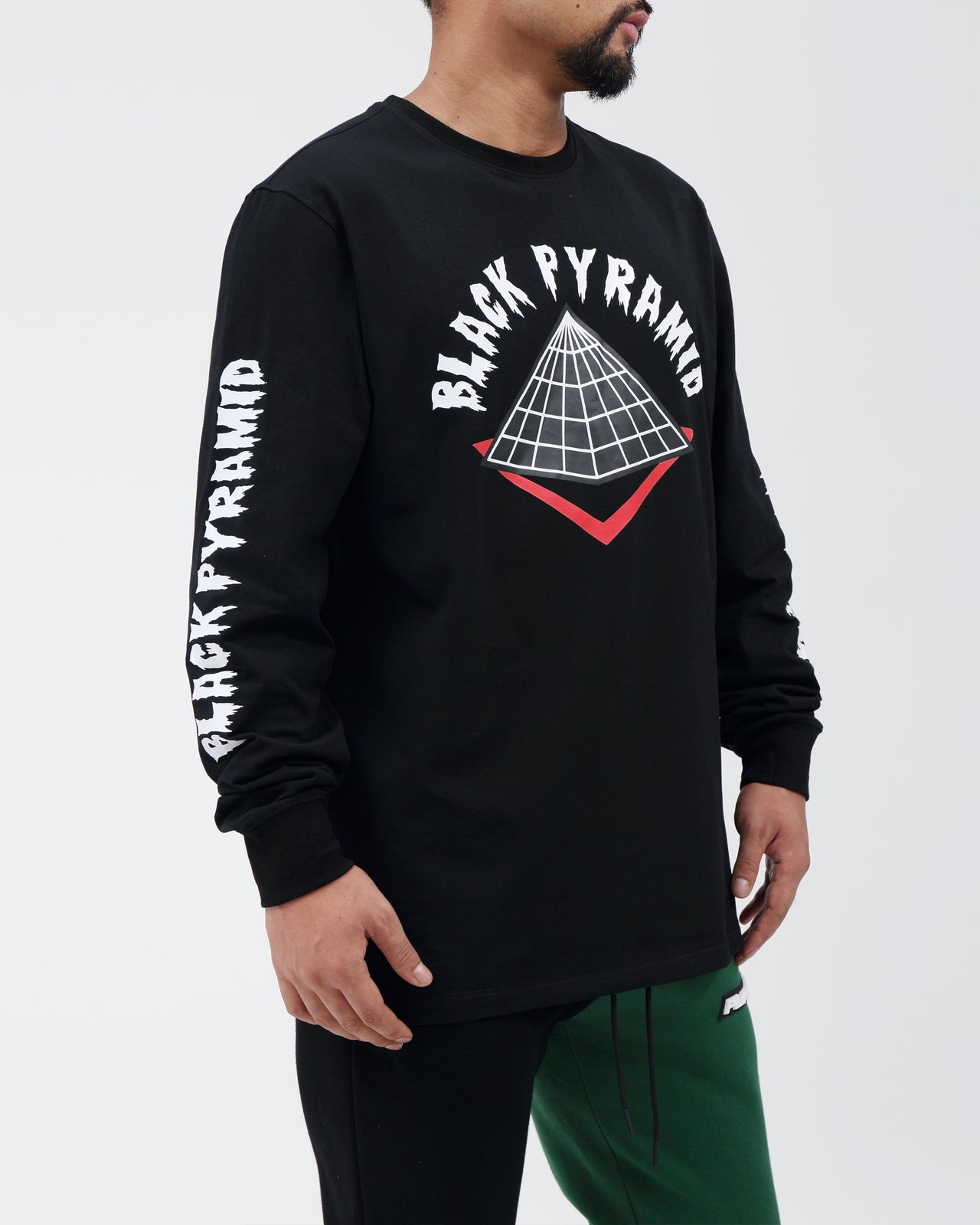 BP Drip Logo LS Shirt - Color: Black