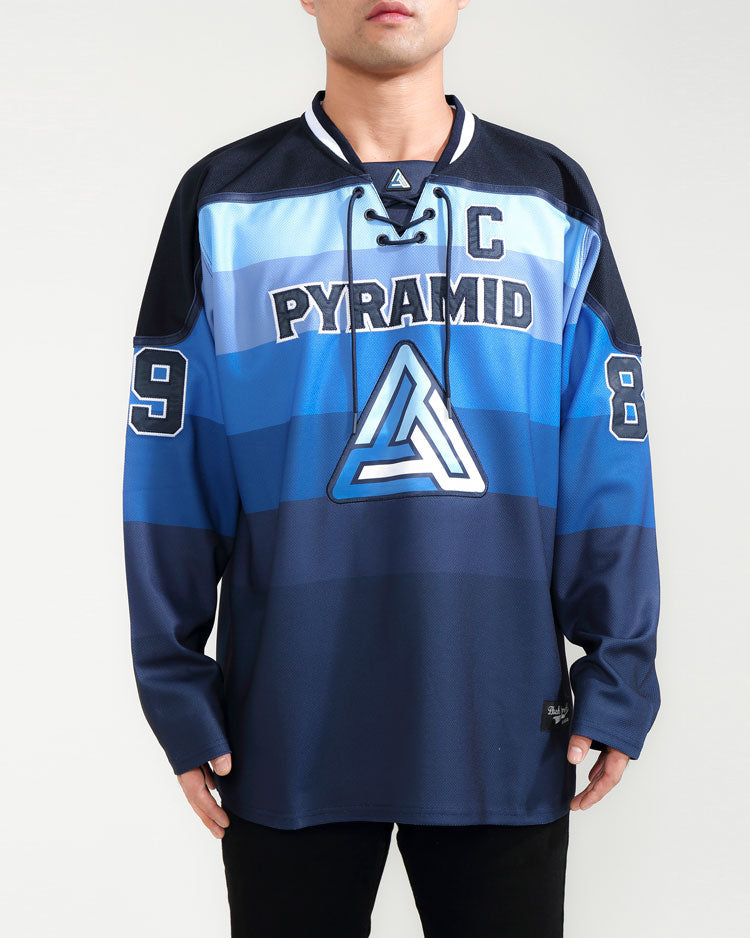 GRADIENT HOCKEY JERSEY-COLOR: BLUE