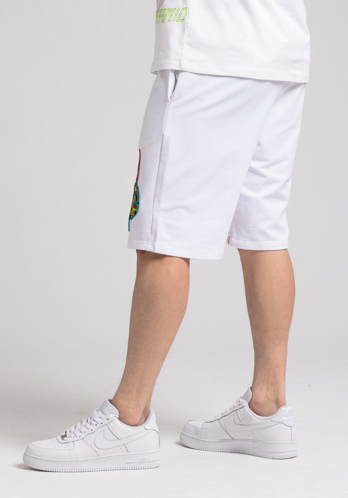SPACE SHORTS - Color: White