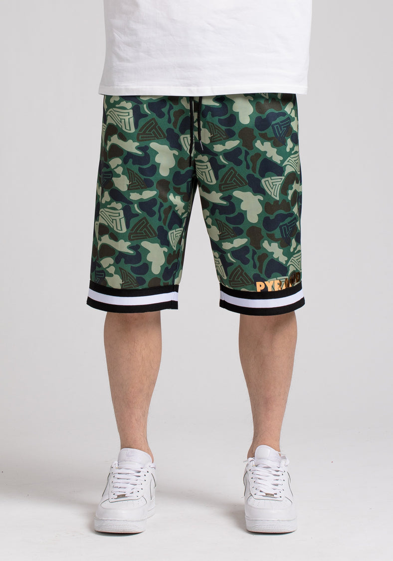 GOLDEN PYRAMID CAMO SHORT