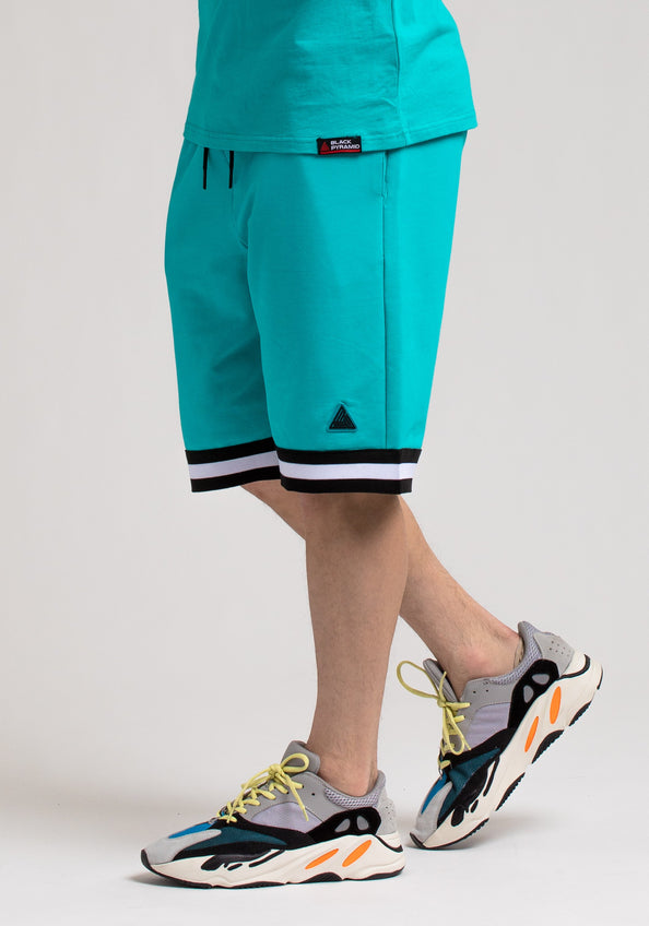Pyramid World Wide Short - Color: Blue