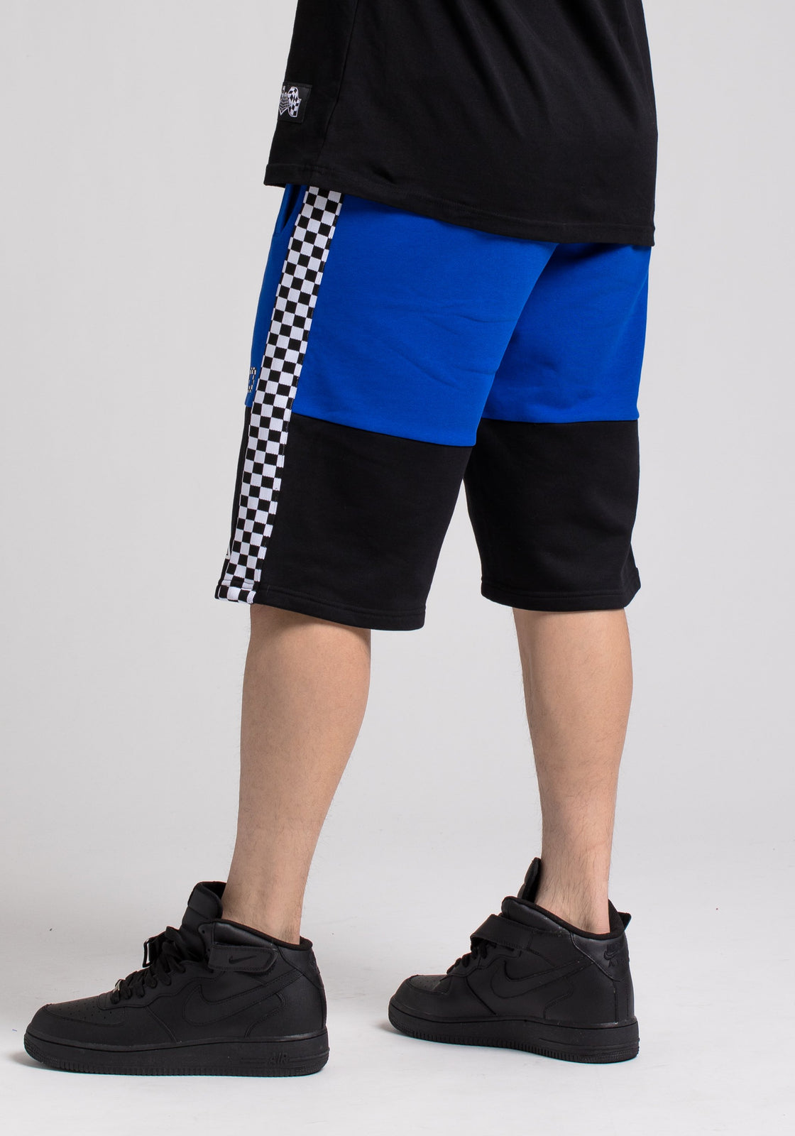 BP MICRO CHECKER BLOCK SHORT - Color: Blue