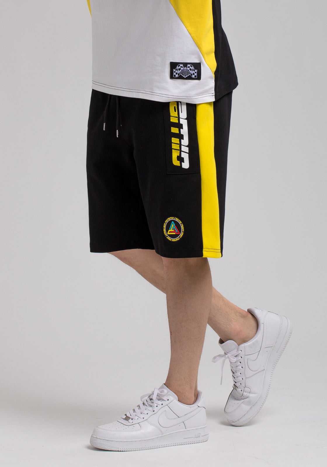 Racing Team Shorts - Color: Black