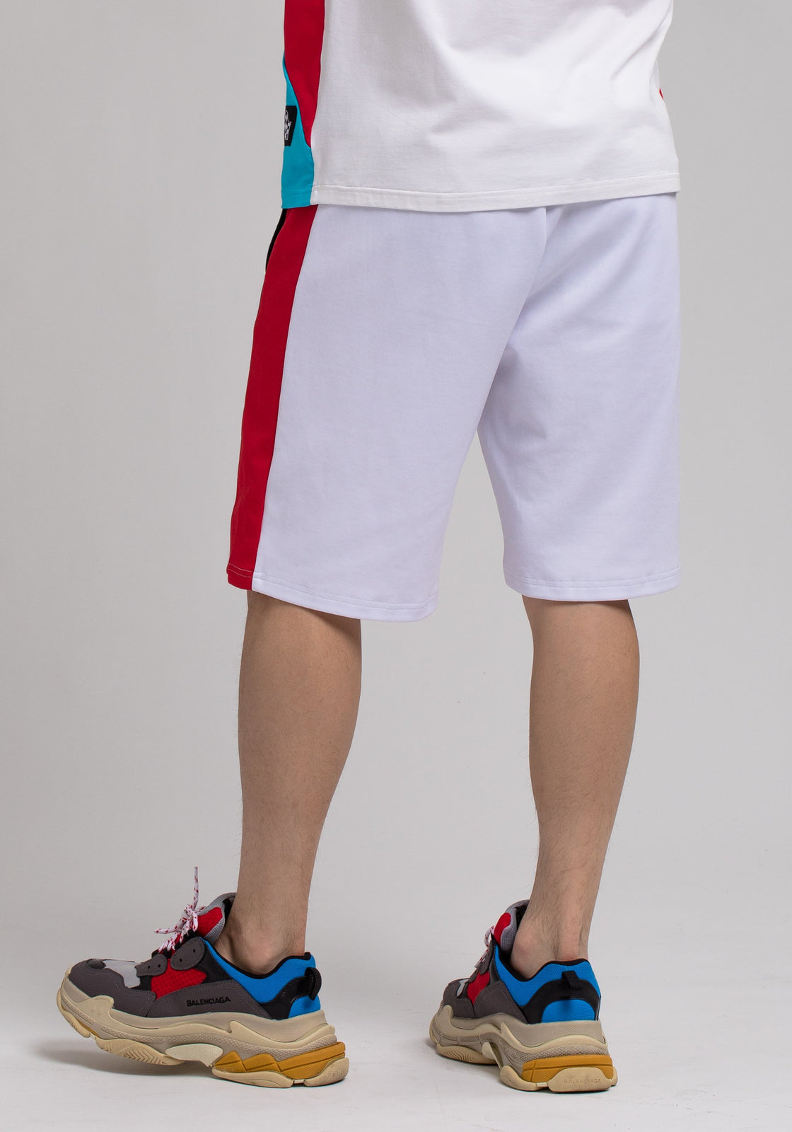 Racing Team Shorts - Color: White