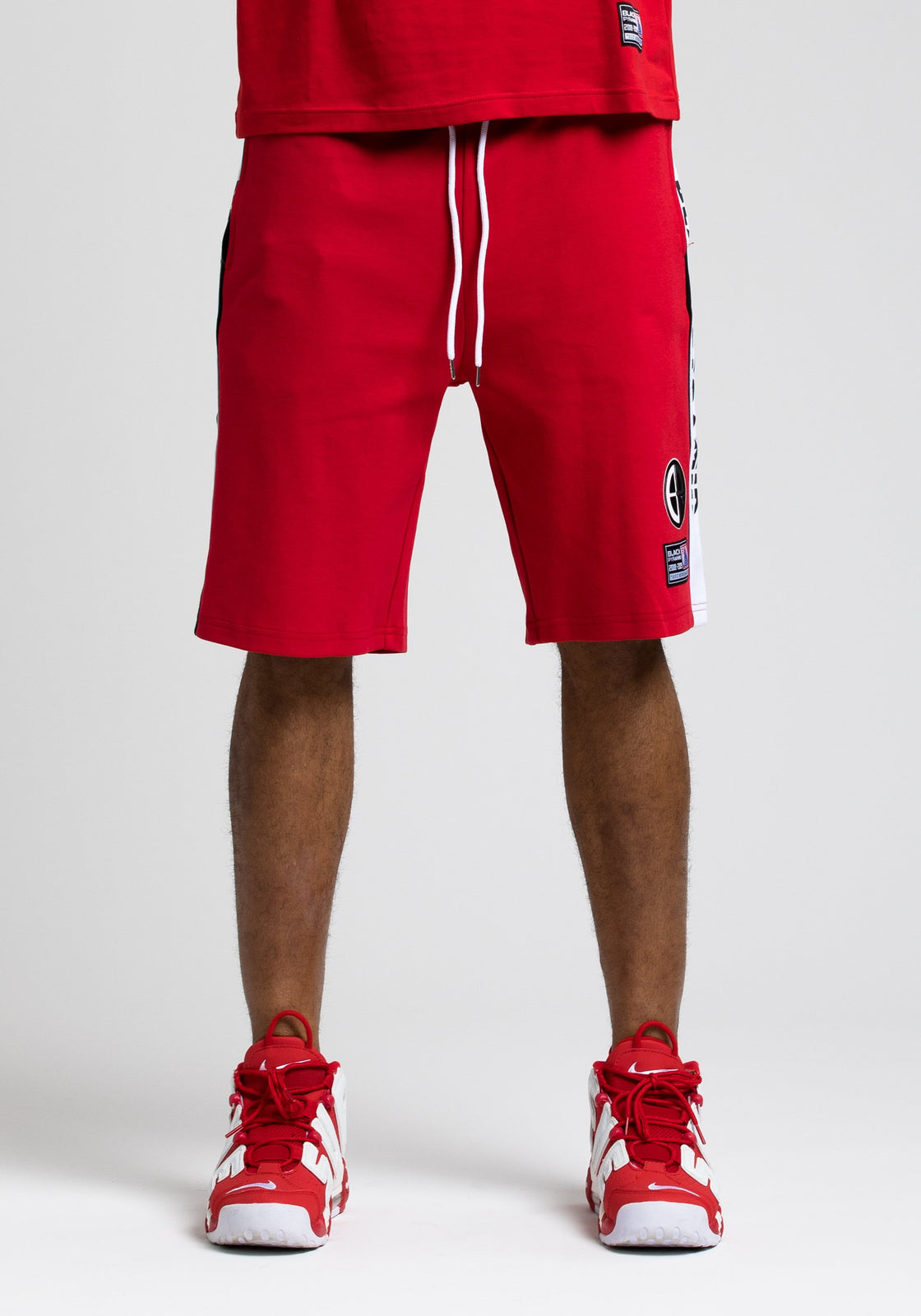 Moto Out Here Ballin Short - Color: RED