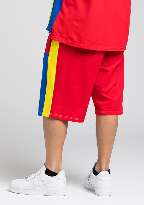 BP Block Short - Color: RED