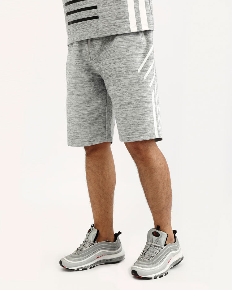 BLACK CYBER SHORT-COLOR: HEATHER GRAY