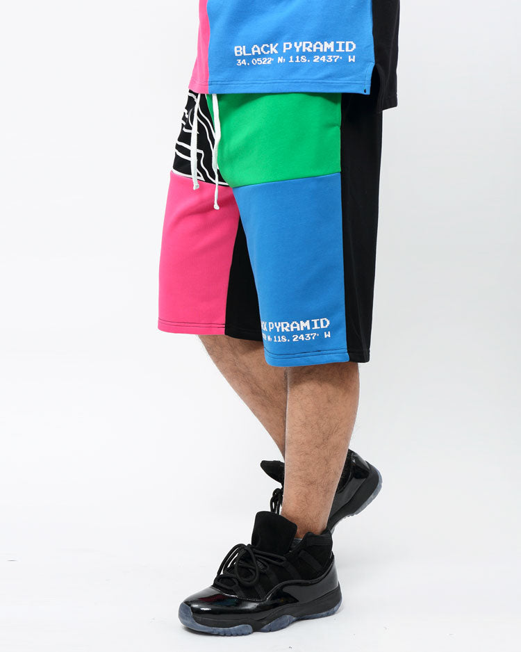 BIG AND TALL COLOR PALETTE SHORTS