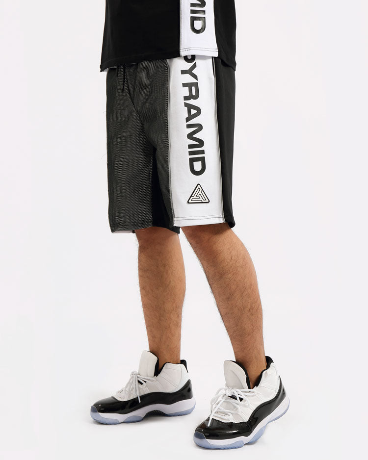 USA REFLECTIVE SHORT-COLOR: BLACK