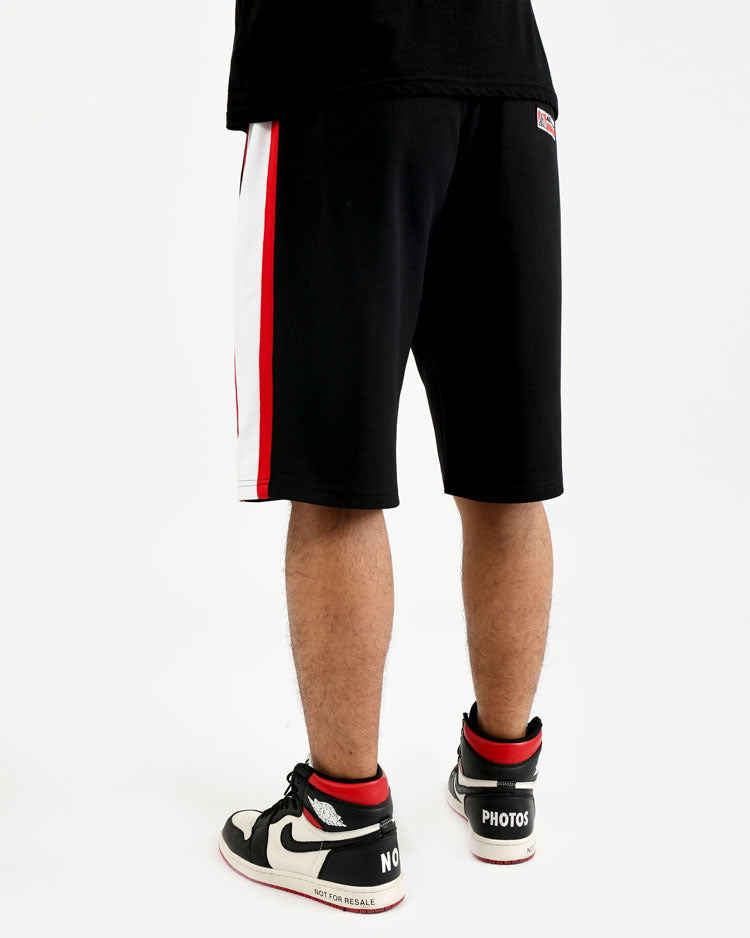 COLLEGE SPORT SHORTS-COLOR: BLACK