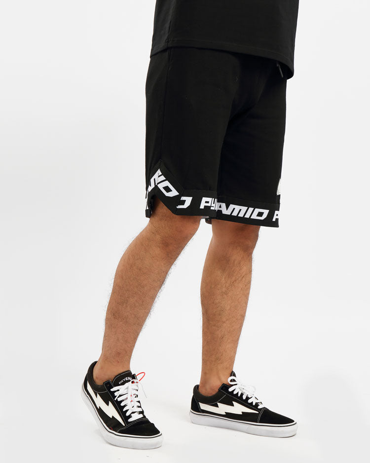 BP CLEAN LOGO SHORT-COLOR: BLACK
