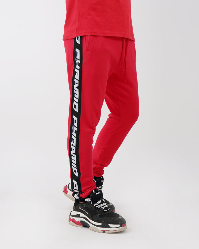 Pyramid Pant - Color: Red