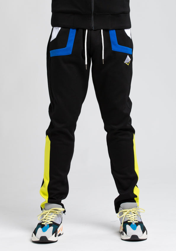 BP Cut and Sew Track Pant - Color: Black