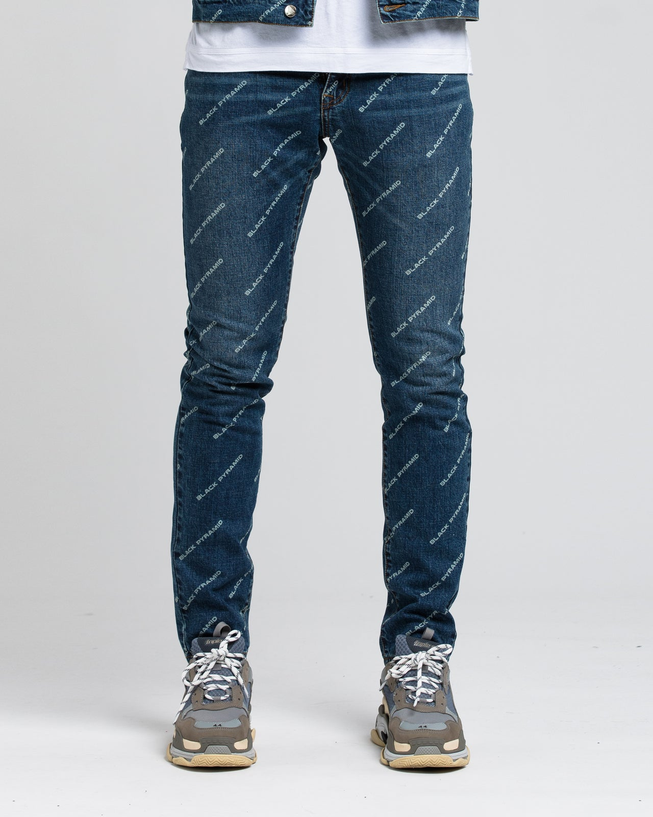 Black Pyramid Denim - Color: DARK WASH