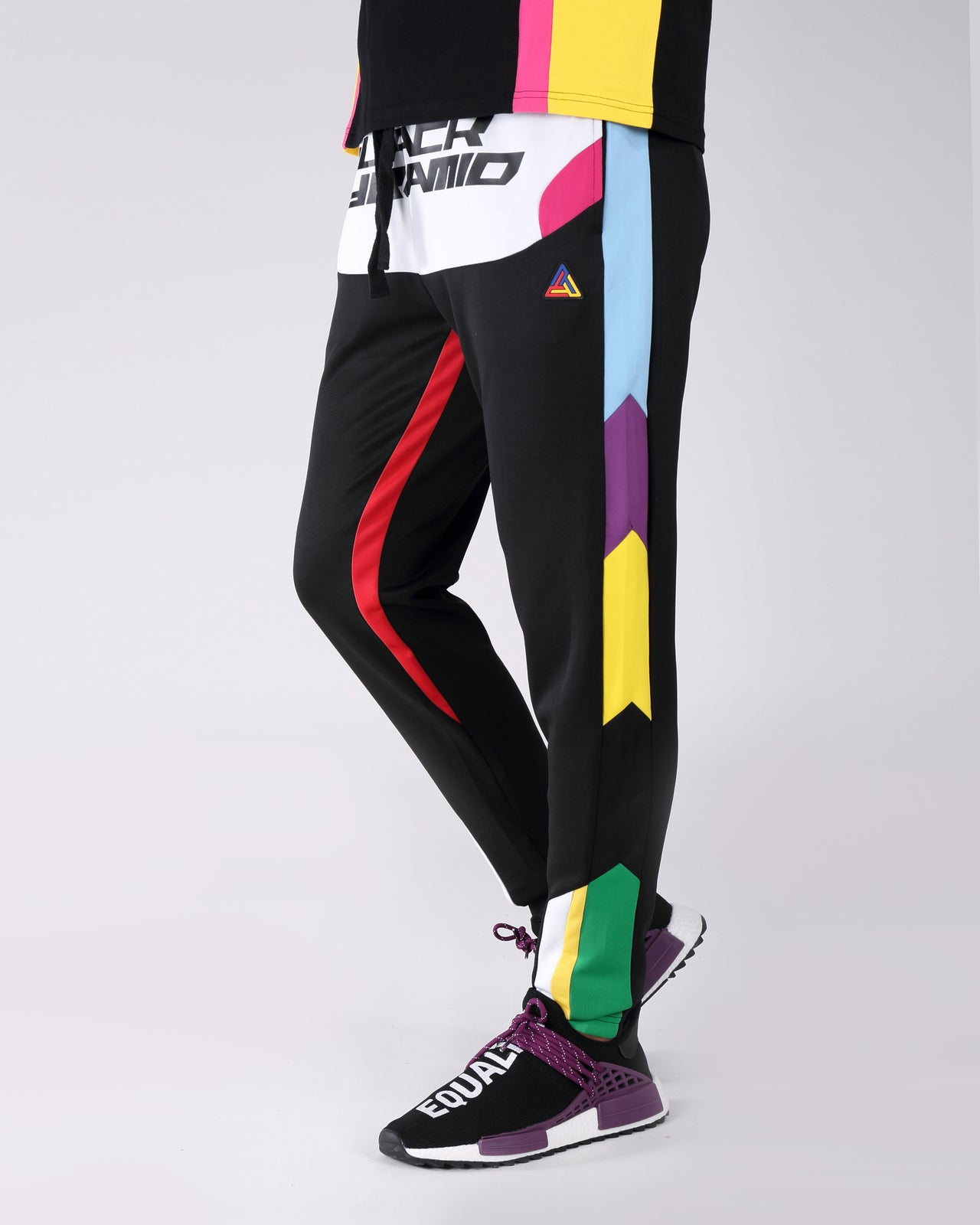 BP Racing Track Pant - Color: Black