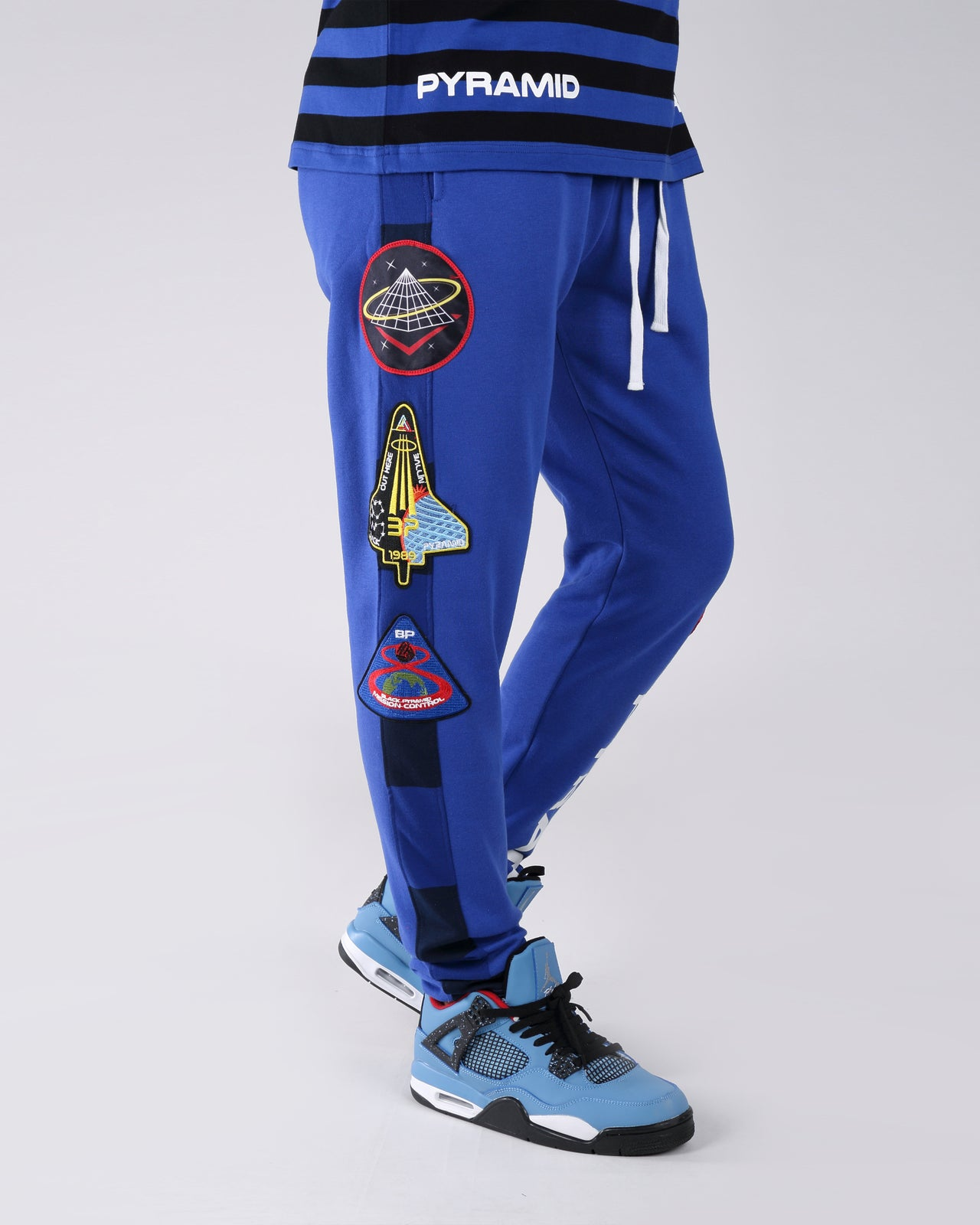 BP Space Track Pant - Color: Blue