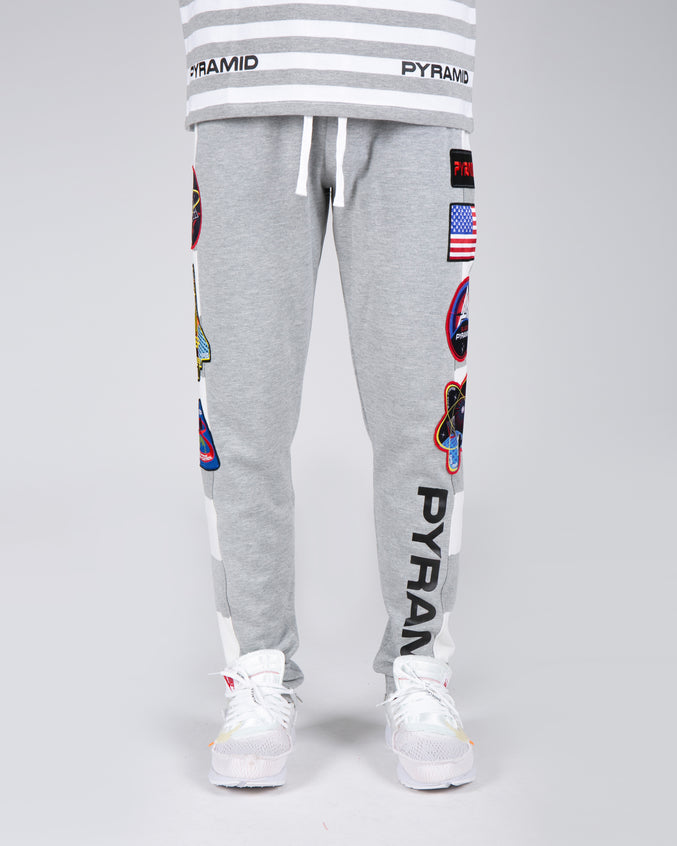 BP Space Track Pant - Color: Heather Gray