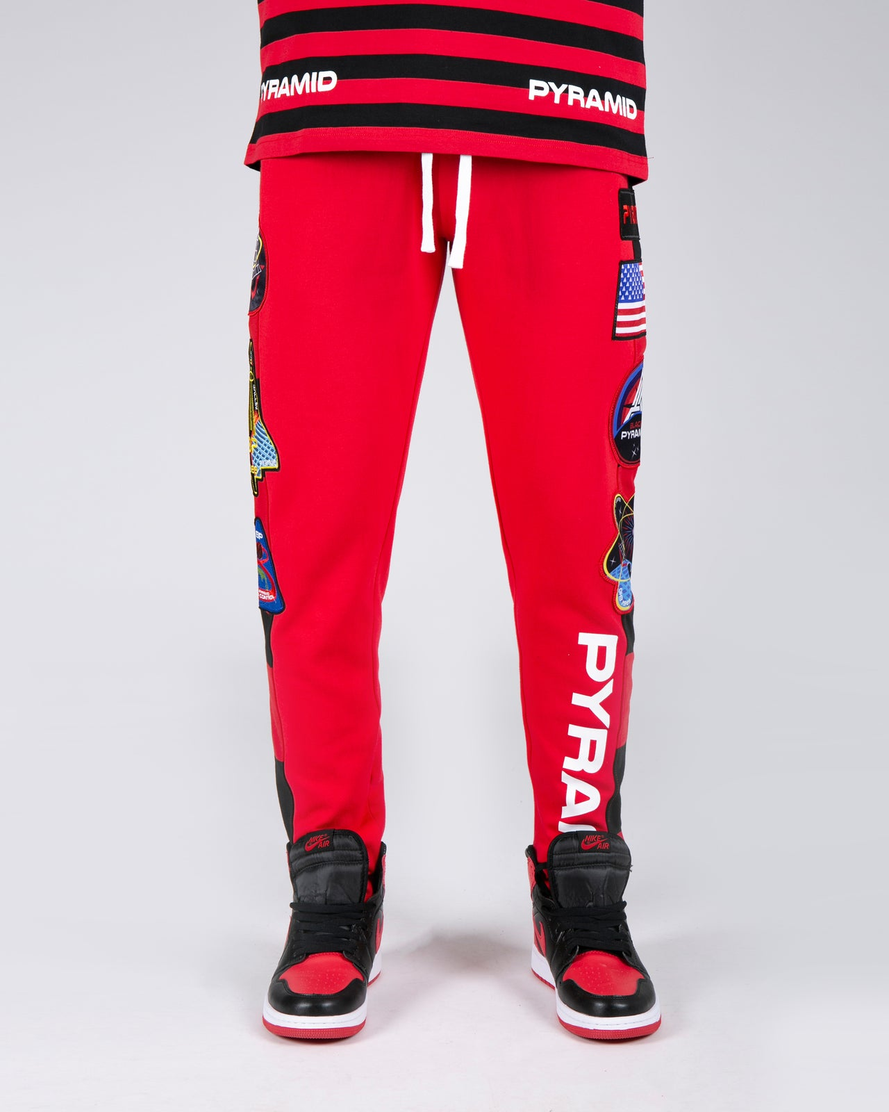 BP Space Track Pant - Color: Red
