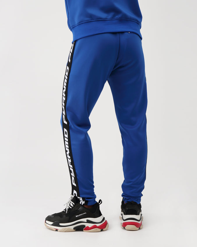 Pyramid Taping Track Pant - Color: BLUE