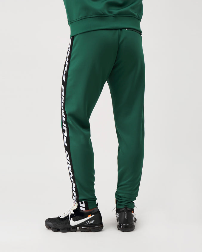 Pyramid Taping Track Pant - Color: OLIVE