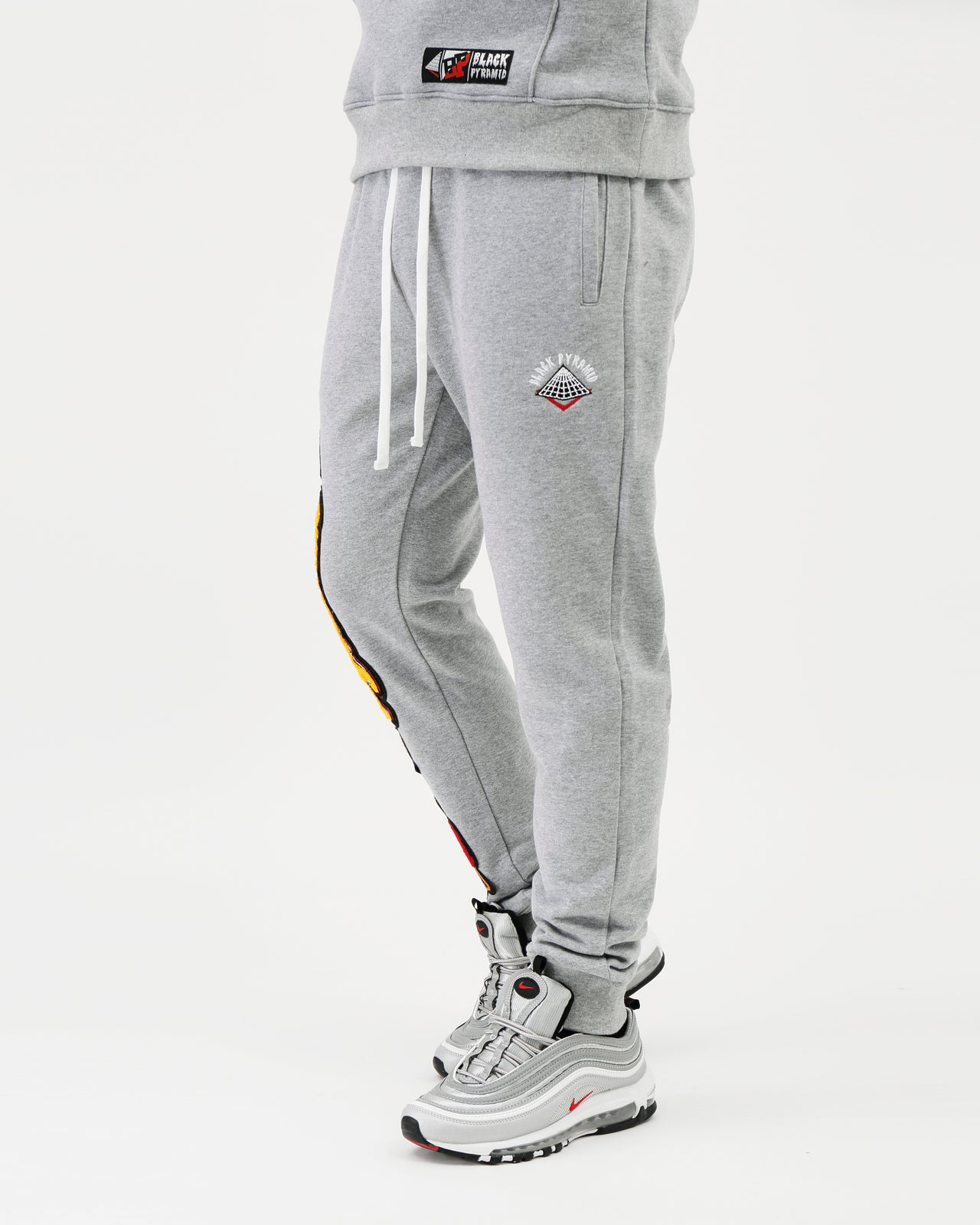 College Mash Joggers - Color: HEATHER | GRAY