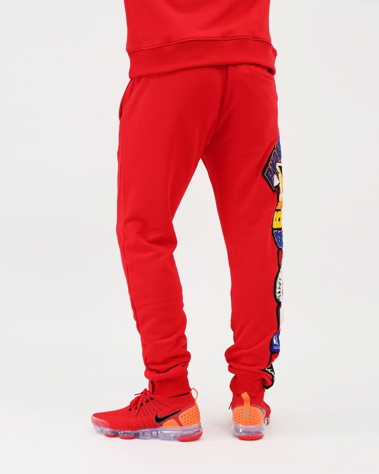 College Mash Joggers - Color: RED