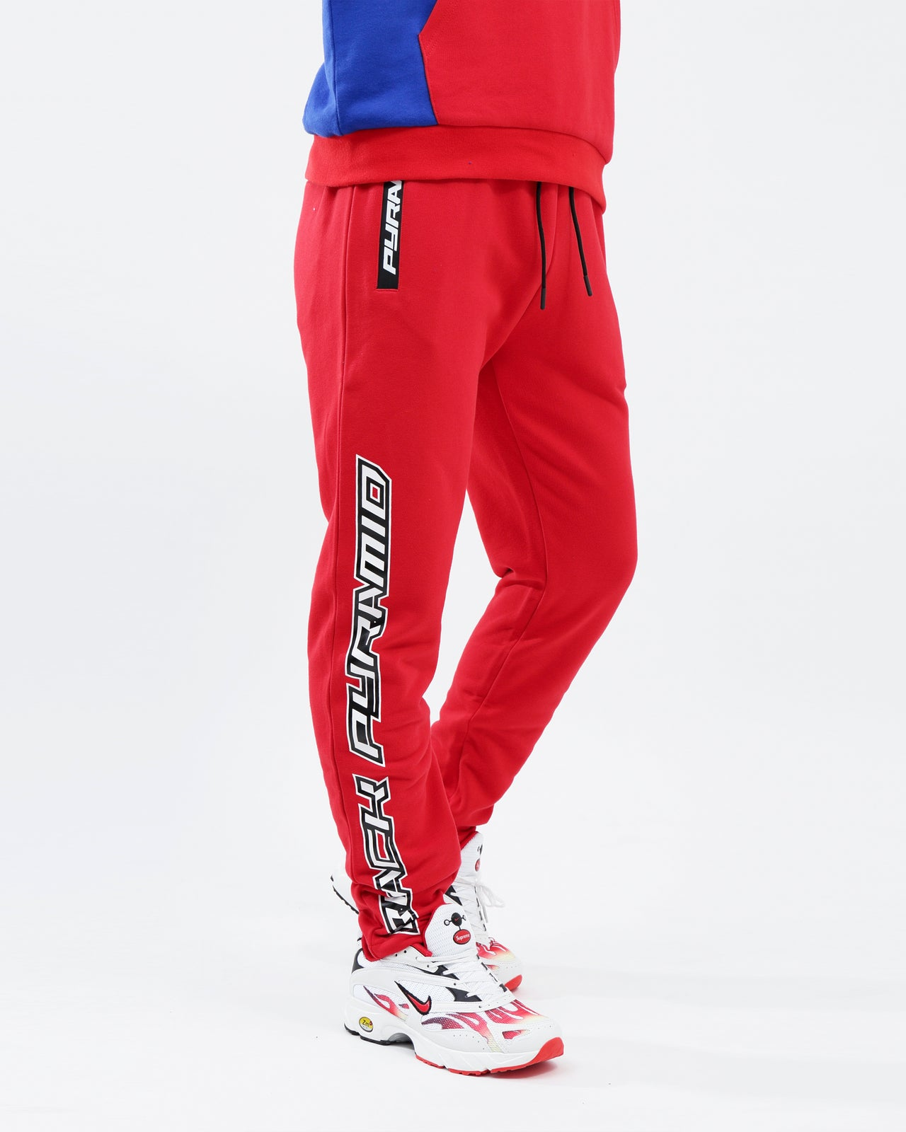 BP Speed Logo Pant - Color: Red