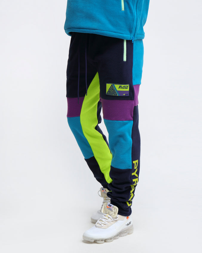 POLAR FLEECE PANT - Color: BLUE