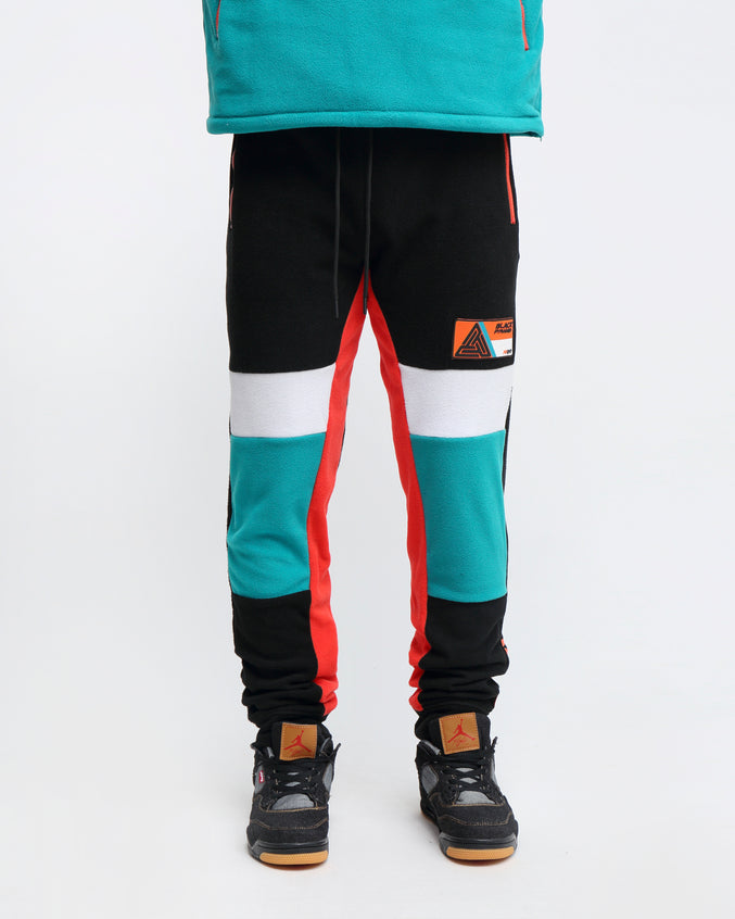 POLAR FLEECE PANT - Color: GREEN
