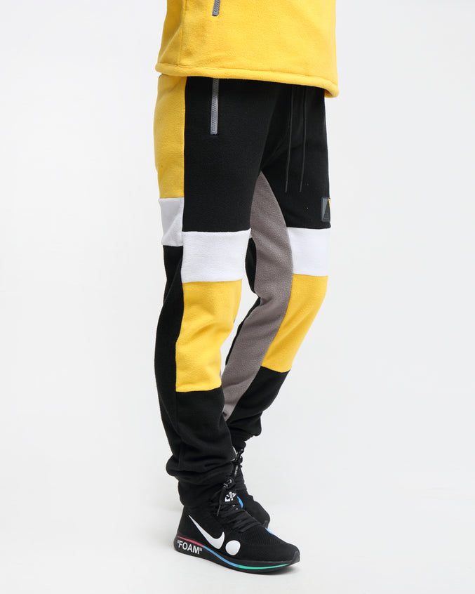 POLAR FLEECE PANT - Color: YELLOW