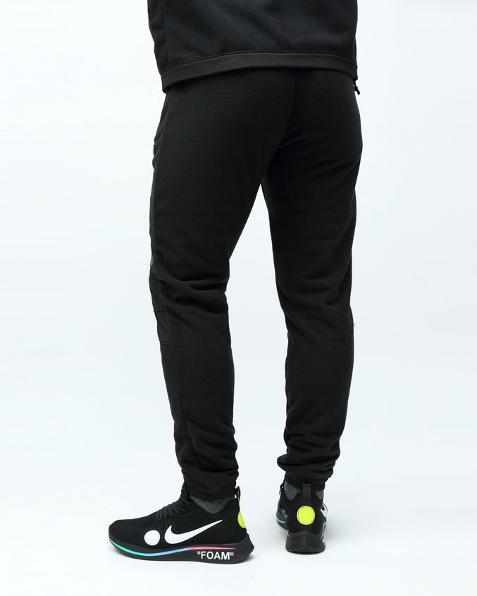 BP POLAR FLEECE PANT - Color: BLACK