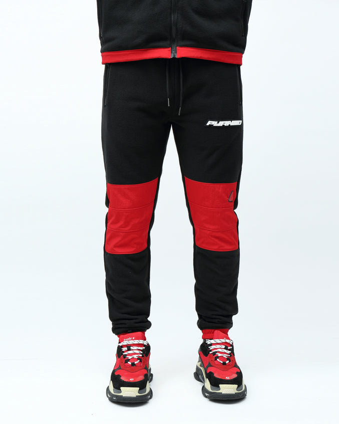 BP POLAR FLEECE PANT - Color: RED
